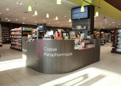 Solutions agencement pharmacie - accueil - Proexpace