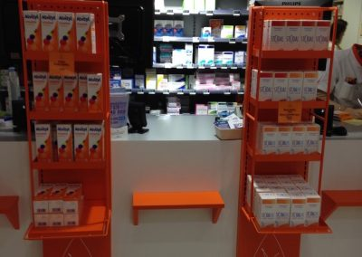 Solutions agencement pharmacie - cross marketing - Proexpace