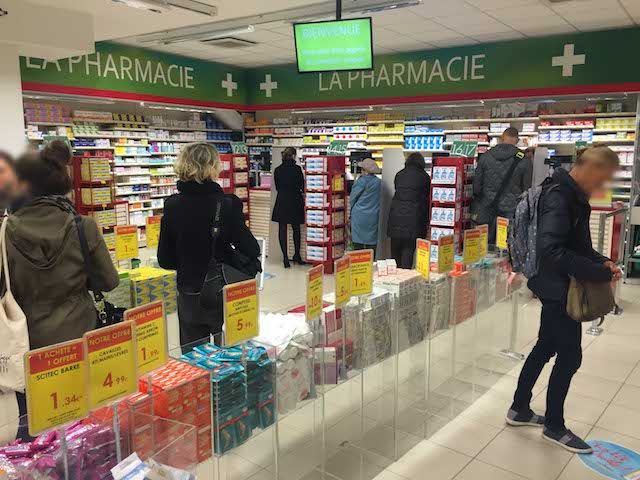 File d'attente pharmacie, agencement ProeXpace