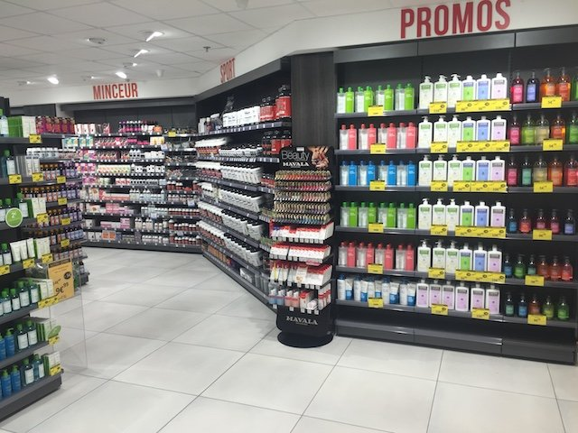 Agencement pharmacie Proexpace BAB2 Anglet