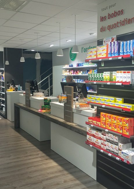 Proexpace agencement pharmacie Saint-martin Mougins
