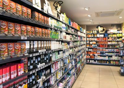 Proexpace agencement pharmacie- Bocage - Allauch - muraux